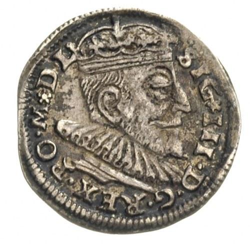 trojak 1591, Wilno, Iger V.91.2.b (R1), Ivanauskas 5SV2...