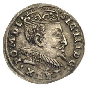trojak 1595, Wilno, bez herbu Prus, Iger V.95.1.b, Ivan...
