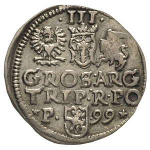 trojak 1599, Poznań, Iger P.99.1.c