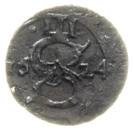 zestaw: trzeciak 1624 Łobżenica (T. 7 -rzadki), denar 1...