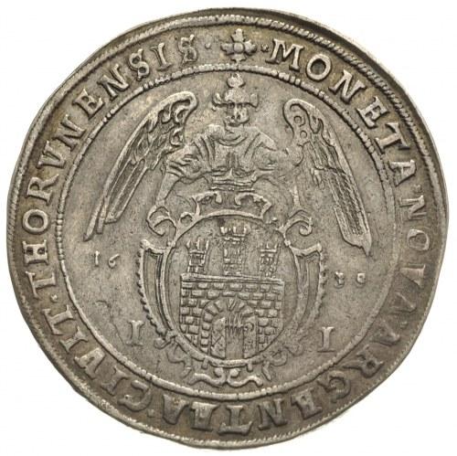 talar 1638, Toruń, 28.25 g, Dav. 4374, T. 6, delikatna ...