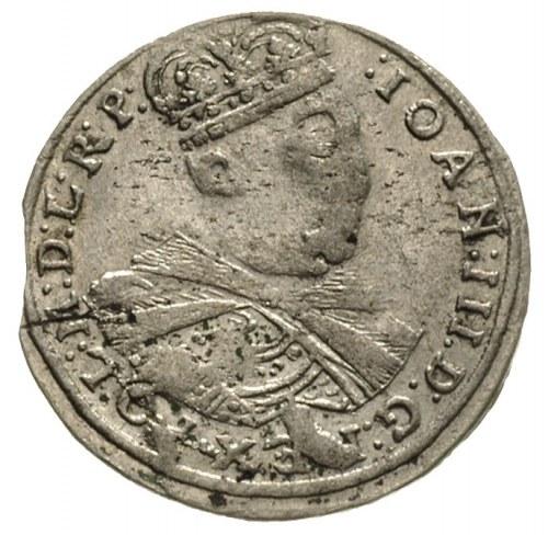 trojak 1684, Kraków, awers Iger K.84.1.b, rewers Iger K...