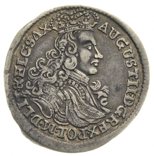 szóstak 1706 , Grodno, (Moskwa?), Ivanauskas 2A4-3, rza...