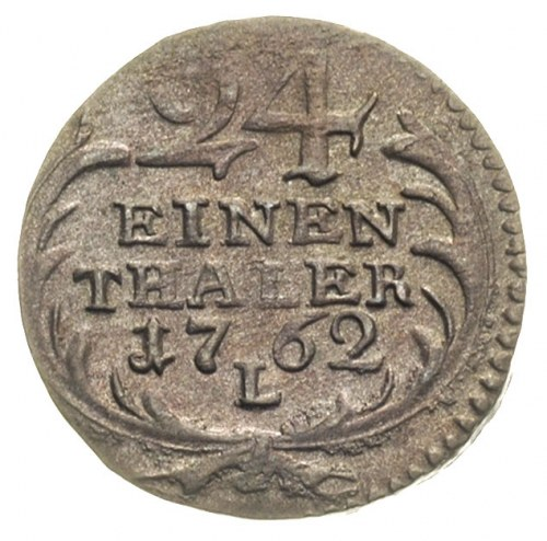 1/24 talara 1762, Lipsk, Merseb. 1768, emisja pruska w ...