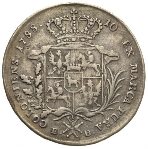 talar 1788, Warszawa 26.81 g, odmiana z dłuższym wieńce...