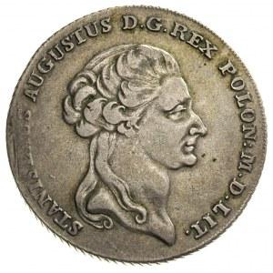 talar 1794, Warszawa, 24.12 g, dłuższa gałązka lauru z ...