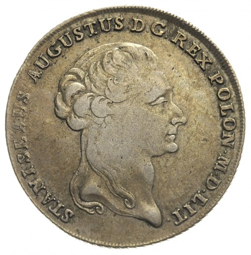 talar 1794, Warszawa, 24.15 g, krótsza gałązka lauru z ...