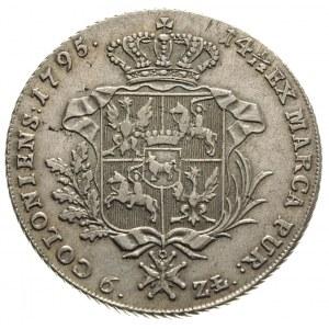 talar 1795, Warszawa, 24.06 g, Plage 374, Dav. 1623