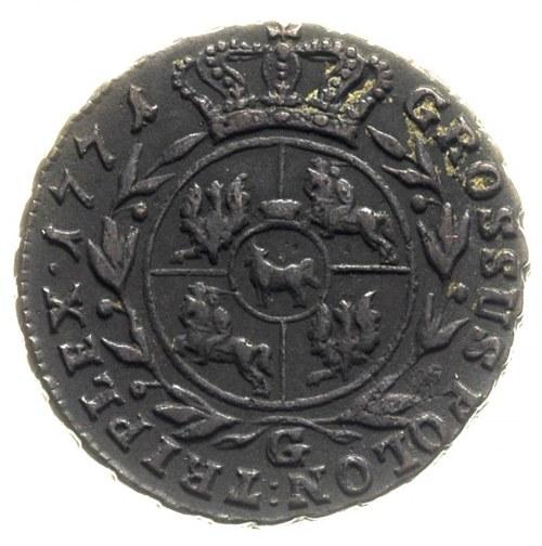 trojak 1771, Warszawa, Iger Wa.71.1.a (R2), Plage 235, ...