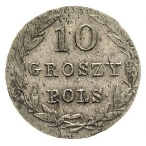 10 groszy 1830, Warszawa, litery KG, Plage 92, Bitkin 1...