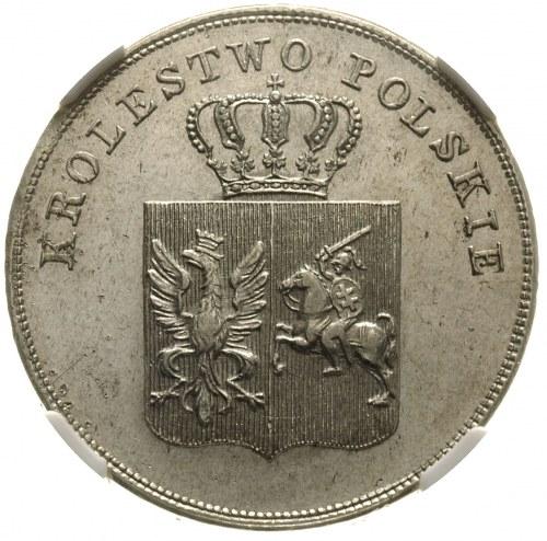 5 złotych 1831, Warszawa, Plage 272, moneta w pudełku N...