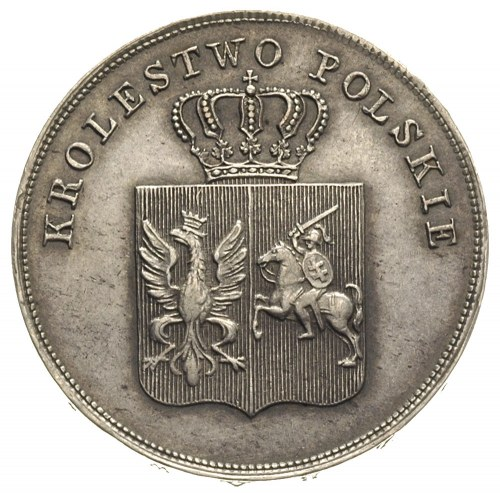 5 złotych 1831, Warszawa, Plage 272, patyna
