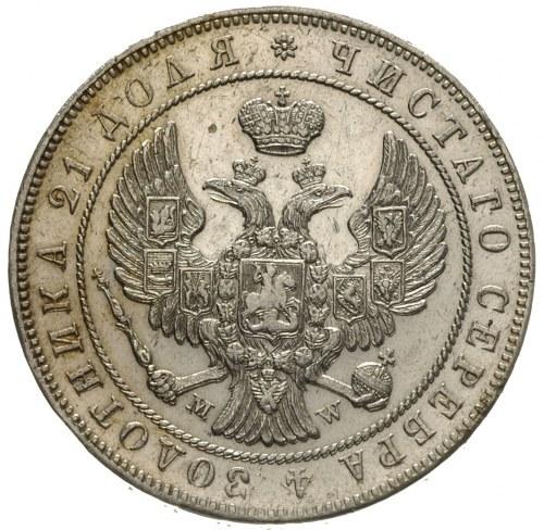 rubel 1844, Warszawa, Plage 433, Bitkin 423
