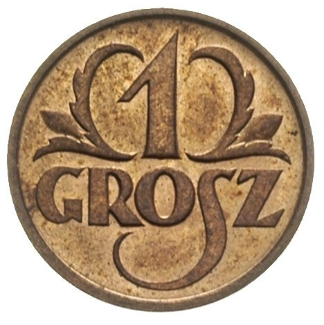 grosz 1925, Warszawa, Parchimowiczwy 101.b, wyśmienity ...
