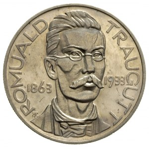10 złotych 1933, Romuald Traugutt, bez napisu PRÓBA, sr...