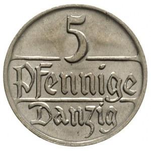 5 fenigów 1923, Berlin, Parchimowicz 55.a, piękne