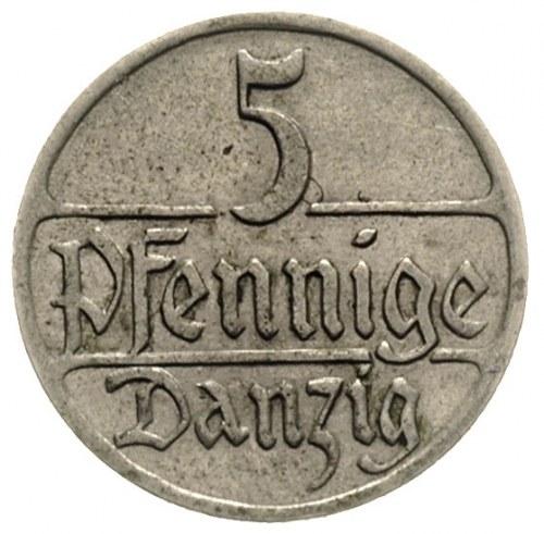 5 fenigów 1928, Berlin, Parchimowicz 55.d, rzadki roczn...