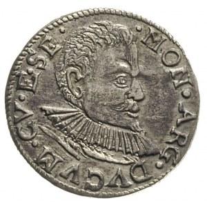 Fryderyk Kettler 1587-1642, trojak 1597, Mitawa, Iger K...