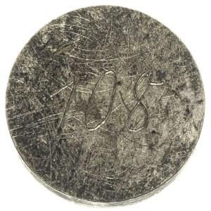 Piotr Biron 1769-1780, jednostronna próbna odbitka w cy...