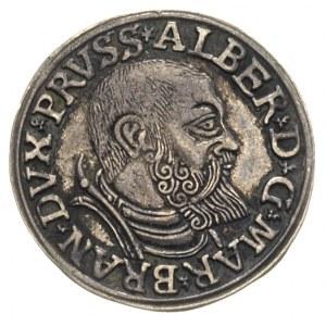 trojak 1540, Królewiec, Iger Pr.40.1b (R),Bahr. 1171, p...