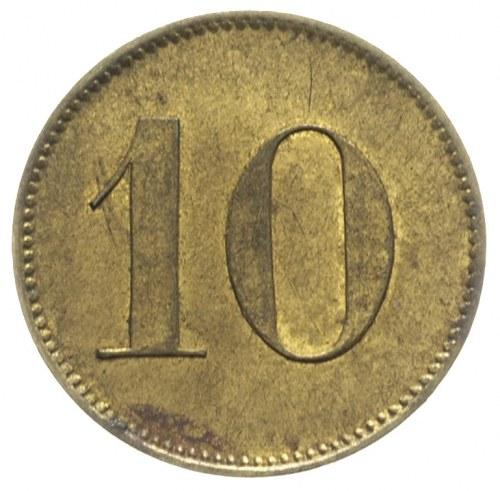 Dominium Pomarzanki, 10 bez nazwy nominału, Aw: Cyfra 1...