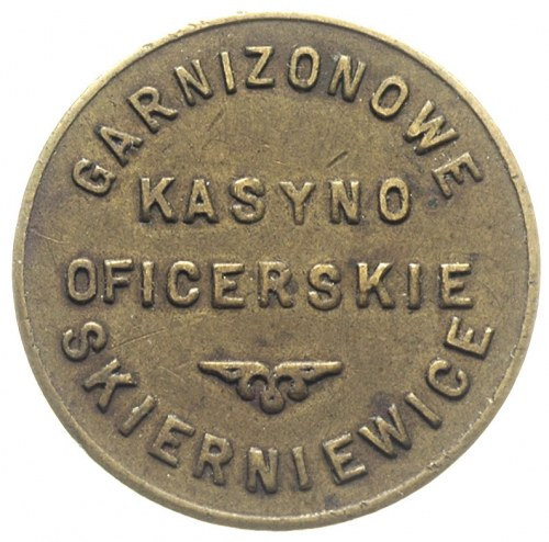 Skierniewice, 1 złoty Kasyna Oficerskiego Garnizonu, mo...