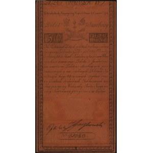 50 złotych polskich 8.06.1794, seria C, Miłczak A4, Luc...