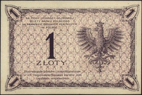 1 złoty 28.02.1919, seria S.94.B, Miłczak 47b, Lucow 56...