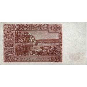 100 złotych 15.08.1939, bez oznaczenia serii, numeracji...