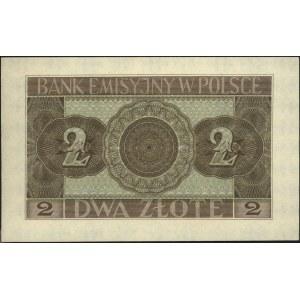 2 złote 1.03.1940, seria D, Miłczak 92, Lucow 770 (R2),...