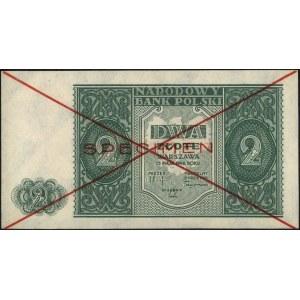 2 złote 15.05.1946, bez oznaczenia serii, czerwony nadr...