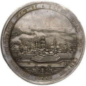 August III,  medal z okazji stulecia Pokoju Oliwskiego ...
