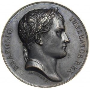 Napoleon, utworzenie Księstwa Warszawskiego, medal auto...