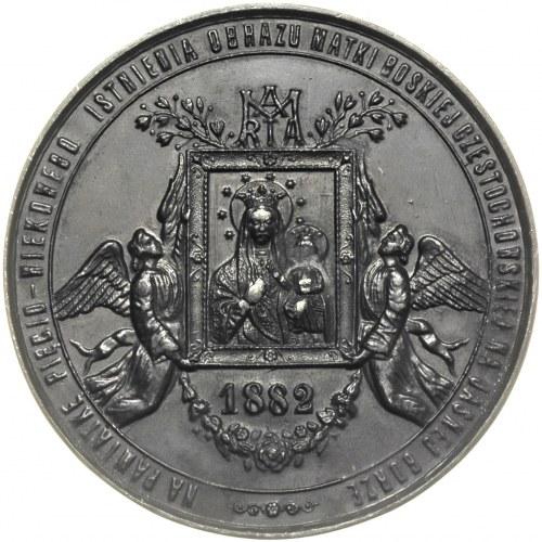 medal na 550 -lecie Obrazu Matki Boskiej Częstochowskie...