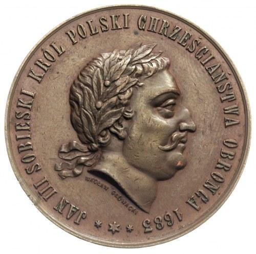 Jan III Sobieski, 200-lecie zwycięstwa pod Wiedniem, me...