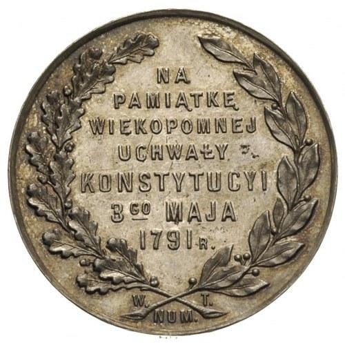 medal na 125-lecie Konstytucji 3 Maja Warszawa 1916, Aw...