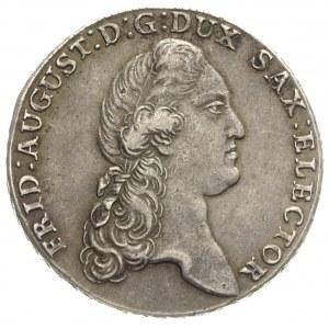Fryderyk August III 1763-1806, talar 1785 I.E.C., Drezn...