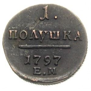 1 połuszka 1797 EM, Jekaterinburg, Bitkin 134, Jusupov ...