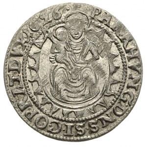 Gabriel Bethlen 1613-1629, szeroki grosz 1626 / CC, Kos...