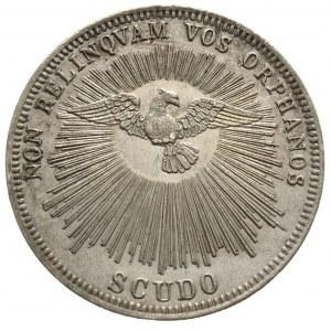Sede Vacante 1846, kamerling Tomasz Riario-Sforza, scud...