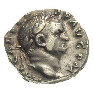 denar 70-72, Rzym, Aw: Popiersie cesarza w prawo, IMP C...