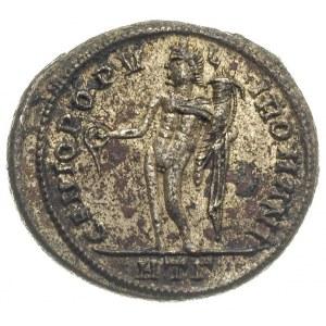 folis 297-298, Heraklea, Aw: Głowa cesarza w wieńcu lau...