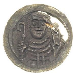 denar, Aw: Książę z mieczem, w polu prawdopodobnie И, R...