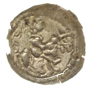 brakteat łaciński, Książę na koniu w prawo, srebro 0.11...