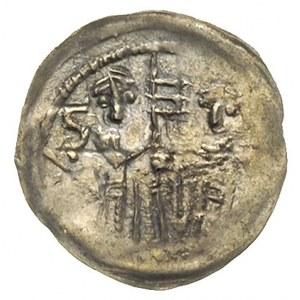 denar, Aw: Krzyż dwunitkowy, w polach napis LODISLAVS, ...