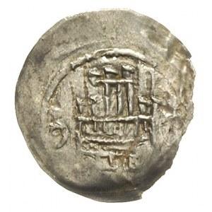 denar koniec XII - początek XIII w., Aw: Kościół, wewną...