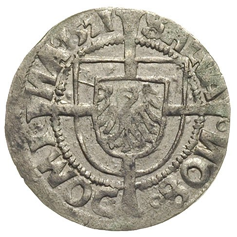 grosz 1521, Królewiec, Voss. 1265, Neumann 40