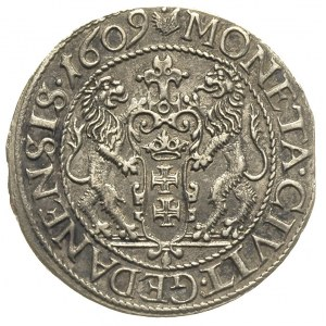 ort 1609, Gdańsk, kropka nad łapą niedźwiedzia, T. 4, r...