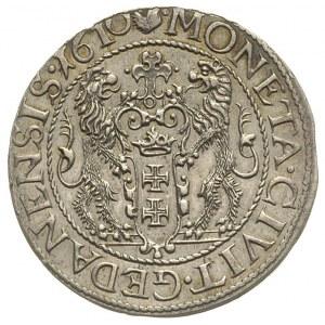 ort 1610, Gdańsk, kropka za łapą niedźwiedzia, T. 6, rz...