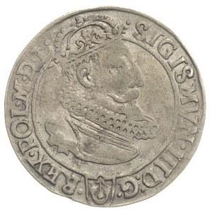 szóstak 1623, Kraków, rzadsza odmiana z VI dzielącą dat...
